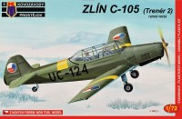 KPM0021  Zlin C-105 Early  Military