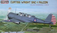 Curtiss Wright SNC-1 Falcon early insignia type