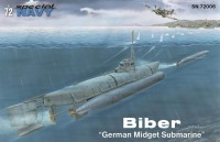 SN72006  Biber  /German Midget Submarine/