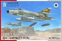 SH72345 SMB-2 Super Mystere  'Sa'ar – Israeli Storm in the Sky'