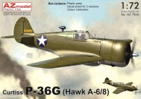 AZ7645 Curtiss P-36G (Hawk A-6/8)