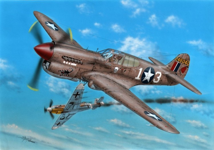 P-40K-1/5 Warhawk 'Short Tail'