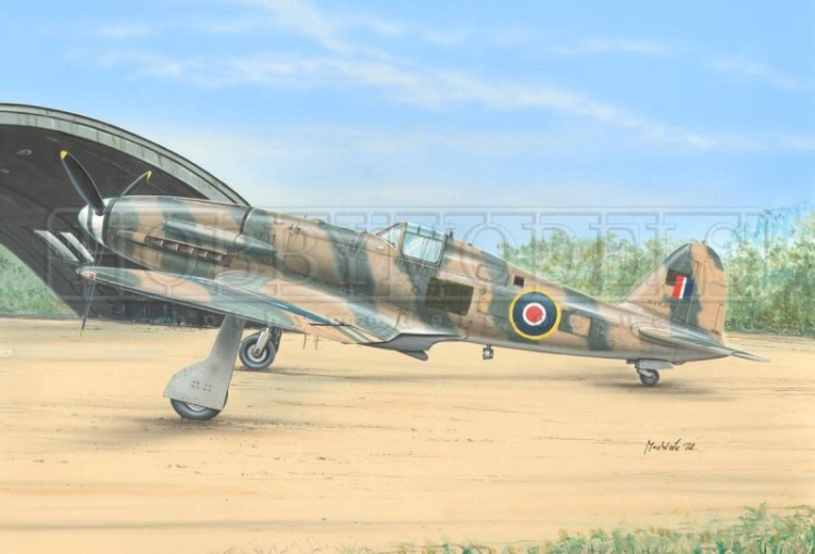 SH72190  Fiat G.55 Centauro  / Captured Fiats /