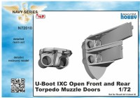 U-Boot IX Open Front and Rear Torpedo Muzzle Doors