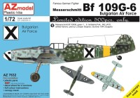 AZ7632 Bf 109G-6 Bulgarian Air Force