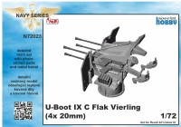 U-Boot IX Flak-Vierling Conversion