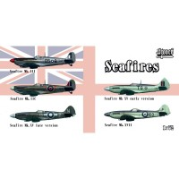 SW72129 Seafires II.c, III, XV early, XV late, XVII
