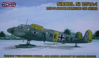 Siebel Si-204A-1 On skis