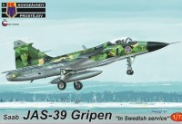"KPM0162 JAS-39 Gripen ""In Swedish service"""