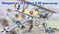 14420   Nieuport 11 vs Fokker E.III (Duels in the sky)