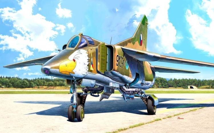 "MiG-23BN ""Warsaw Pact"""