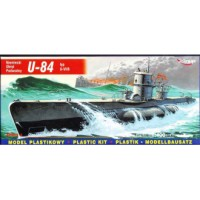 U-84 TYPE U-VIIB GERMAN SUBMARINE 1/400